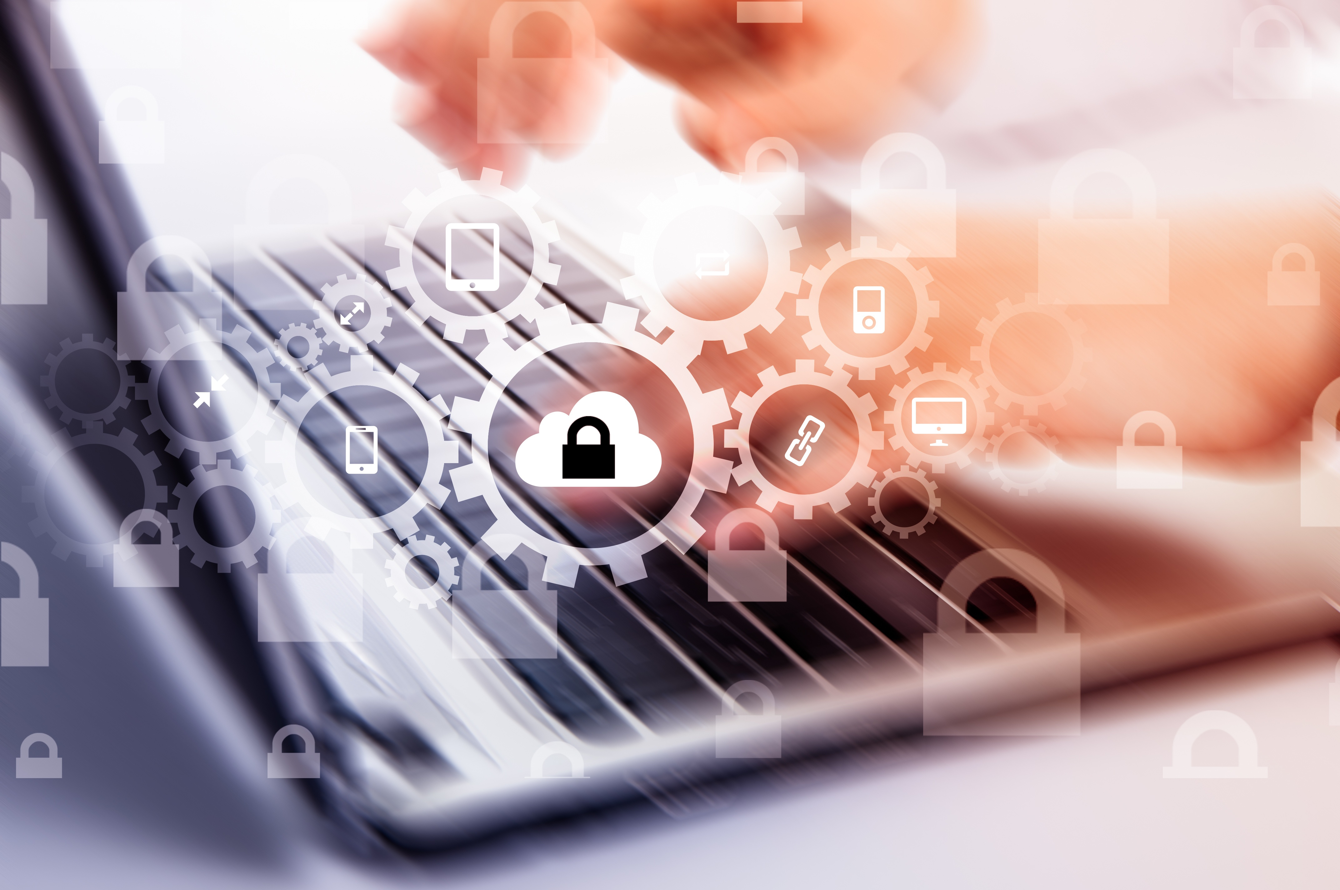 Security Stock Image Computer